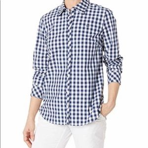 Vineyard Vines Relaxed Fit Plaid Shirt Size (4)